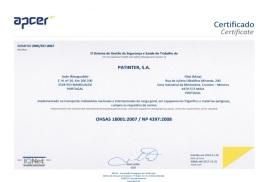 OSHAS 18001:1999